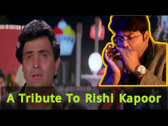 Deewana Movie Song - Rishi Kapoor Tribute || Tere Dard || Instrumental ||