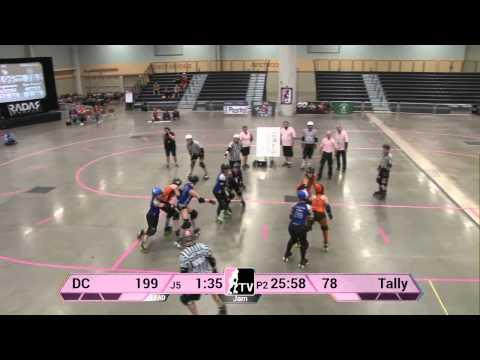 DC Rollergirls v Tallahassee Rollergirls: 2013 WFTDA D2 Playoffs in Des Moines