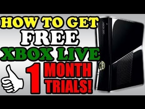 Thumbnail: HOW TO GET | FREE XBOX LIVE (MAY 2014) 1 MONTH TRIAL UNLIMITED! STILL WORKING!