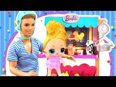 Подделка Куклы ЛОЛ пытается со всеми подружится! Примут ли ее Амелькины Игрушки?