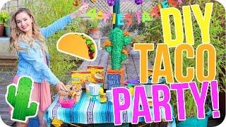 DIY Fiesta Party! Food, Decor & More!