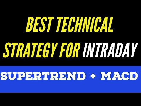 Best Intraday Strategy | How To Use SUPER TREND + MACD | Technical |MCX|Tamil |Aliceblue |Share| CTA