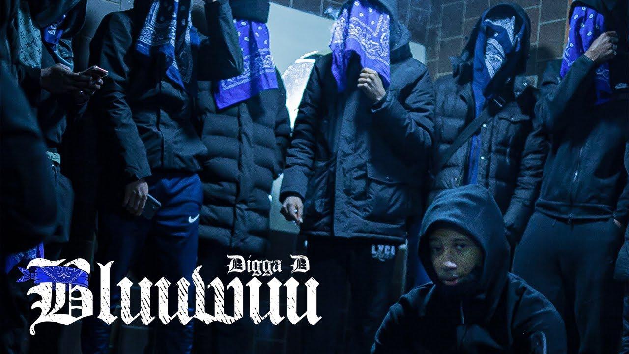 Digga D – Bluuwuu (prod. by Glvck)