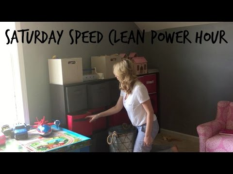 Saturday Speed Clean | Power Hour