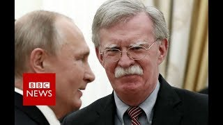 Bolton says Russia's nuclear treaty warnings 'overheated' - BBC News