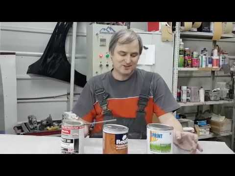 Тест жидких шпаклёвок Sprint Vs NOVOL Vs Reoflex