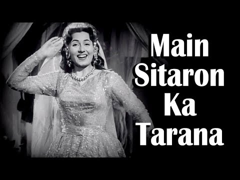 Main Sitaaron Kaa Taranaa | Chalti Ka Naam Gaadi Songs | Kishore Kumar | Madhubala | Filmigaane