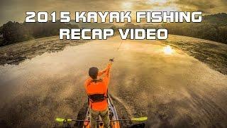 Eric Atkins 2015 Kayak Fishing Recap