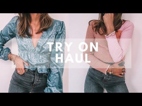 HAUL & TRY ON | Topshop, Revolve, Amazon | Sinead Crowe