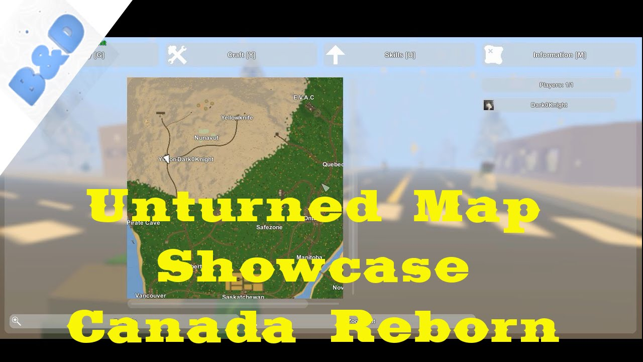 Unturned Map Showcase 10 Canada Reborn Youtube