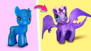 6 лайфхаков для старых игрушек / Куклы-гибриды