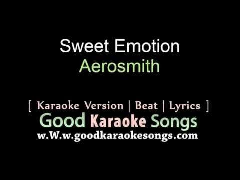 Sweet Emotion   Aerosmith Lyrics Karaoke  goodkaraokesongscom