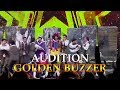 MAGIC MIRROR Thailand's Got Talent 2016 GOLDEN BUZZER Audition【GTF】