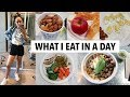 WHAT I EAT IN A DAY 2018 (healthy, no cooking, quick meal ideas)