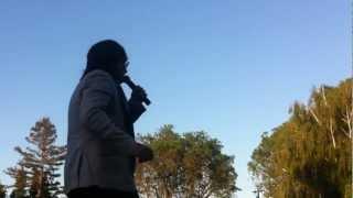 Ehsan Aman singing indian song In Nowruz festival 2012 [Ulasyarkhan]