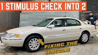 Can I DOUBLE My Stimulus Check In ONE DAY? Flipping The $600 Lincoln Continental