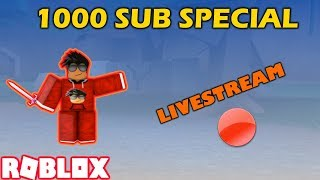 1000 SUB SPEZIAL | ROBLOX: ASSASSIN (VIP SERVER W/ FANS + CLASSIC + MAY NOT BE KID FRIENDLY)