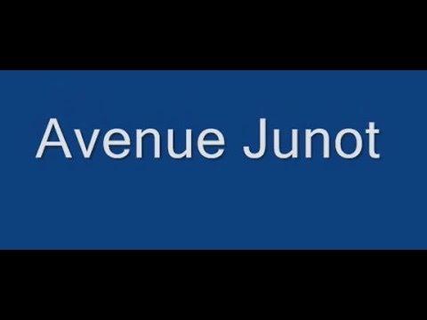 Avenue Junot Paris Arrondissement  18e