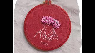 Творчество не знает границ. Автор: мульти-художница Гинта Заумане, студентка НАУ ЭРА.