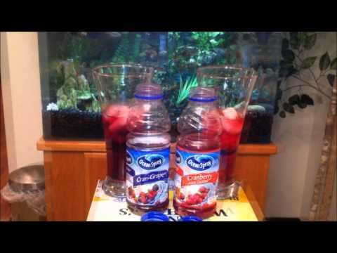 Ocean Spray Cran-Grape VS Cranberry Juice Cocktail Review