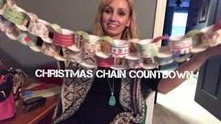 Christmas Chain Countdown Mrs Davis