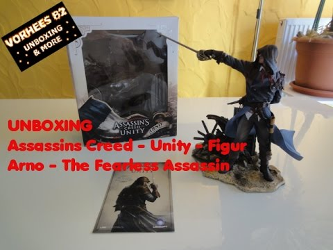 Unboxing - Assassins Creed - Unity - Arno - The Fearless ...