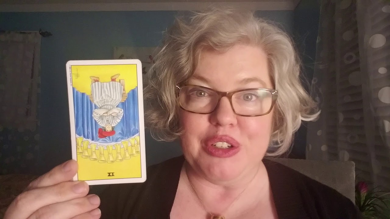 Monday Card: Nine of Cups reversed