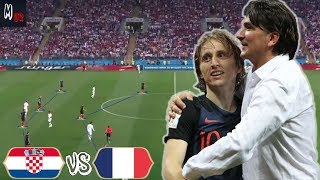 How Can Croatia Win The World Cup? Croatia VS France Tactical Preview