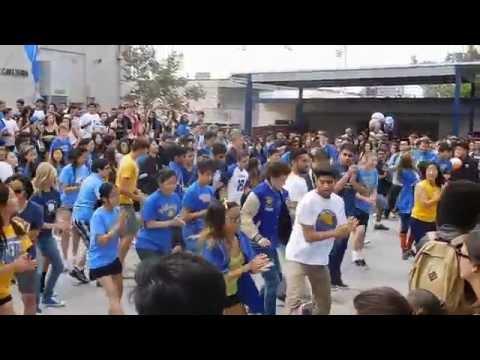 Valencia High School APCalc 2016 Flash Mob Konsey Zumba