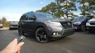 2019 Honda Passport Elite: Start Up, Walkaround, Test Drive and Review