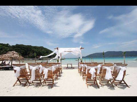 BuBu Long Beach Resort, Perhentian Island Kecil - An Island Wedding