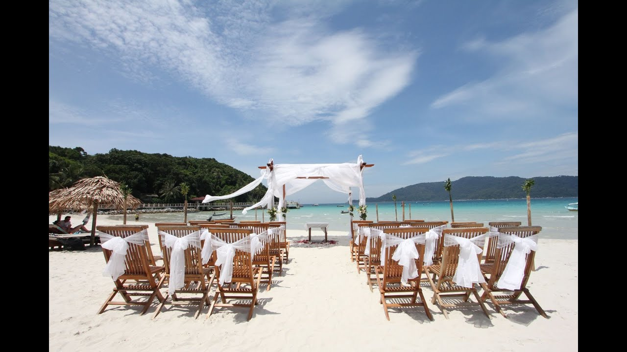 Bubu Long Beach Resort Perhentian Island Kecil An Wedding