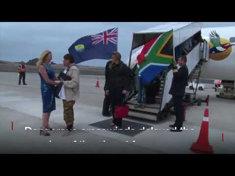 First commercial flight lands at remote island of St Helena
