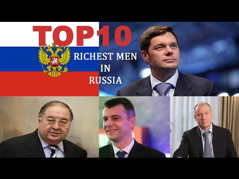 Top 10 - Richest Men In Russia (2015)