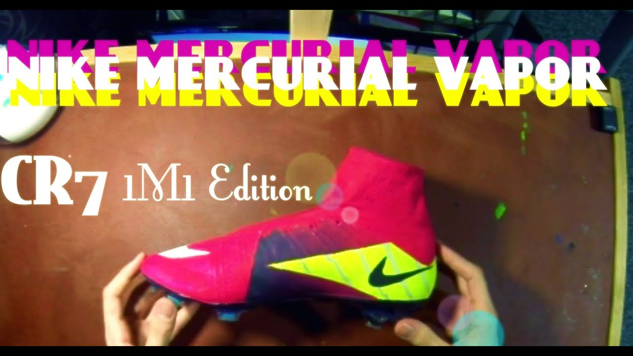 Boot design by nike - Nike Mercurial Superfly 4 Cr7 1m1 Painted Design Custom Boots Youtube