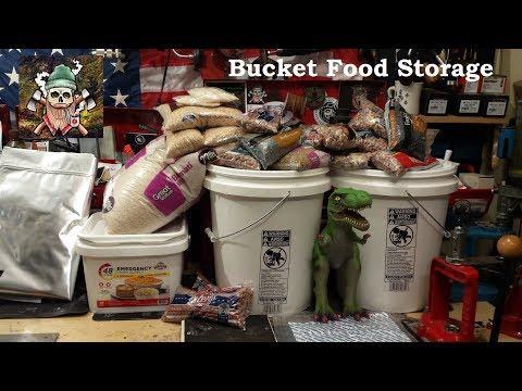 Bucket Food Storage
