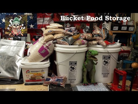 Bucket Food Storage