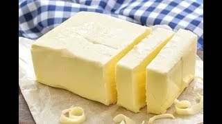 Домашнее сливочное масло просто и без сепаратора. Homemade butter is simple and without a sеparator.