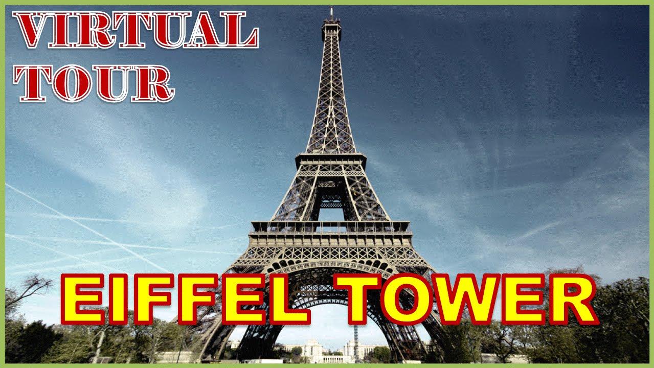 virtual tour eiffel tower paris france youtube. Black Bedroom Furniture Sets. Home Design Ideas