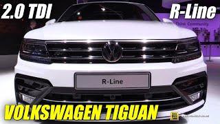 2017 Фольксваген Тігуан 2.0 тді Р-Лайн екстер'єр , інтер'єр навколо - 2015 Франкфуртському автосалоні