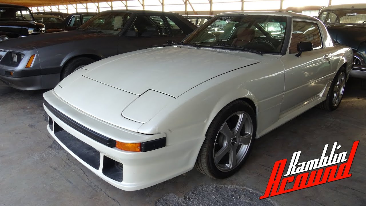 1984 Mazda Rx7 12a 1 1 Liter Rotary Five Speed At Country Classic Cars Youtube