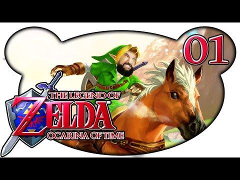 The Legend of Zelda: Ocarina of Time #01 - Ooh, wie ist das schön! (3DS Let's Play Gameplay Deutsch)