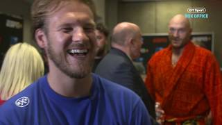 Ben Davison reveals why Tyson Fury is heavier now than the Deontay Wilder fight