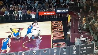 When Lebron James ankle Kevin Durant PS4