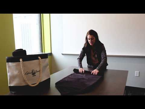 Kinetic Towel Rolling Tutorial thumbnail
