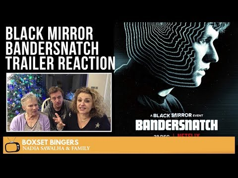 Black Mirror (Bandersnatch) Official Netflix TRAILER - Nadia Sawalha & Family Reaction