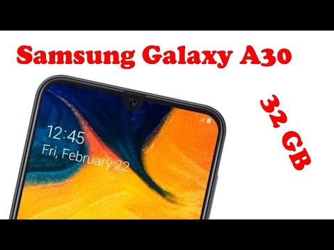Samsung Galaxy A30 32GB обзор