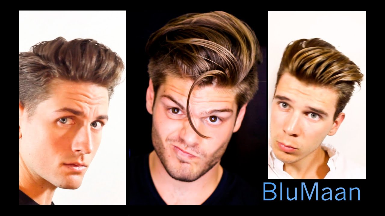 Mens Hair 3 Different Hairstyles 3 Different Hair Types