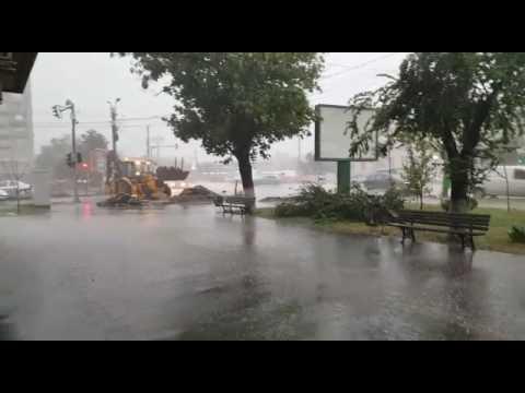 Furtună la Iași
