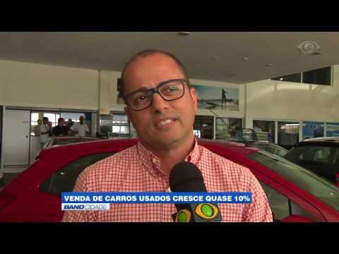 """Band Cidade - """"Venda de carros usados cresce quase 10%"""""""